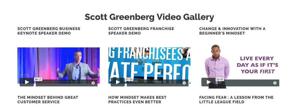 Scott Greenberg Motivational Speaker Video